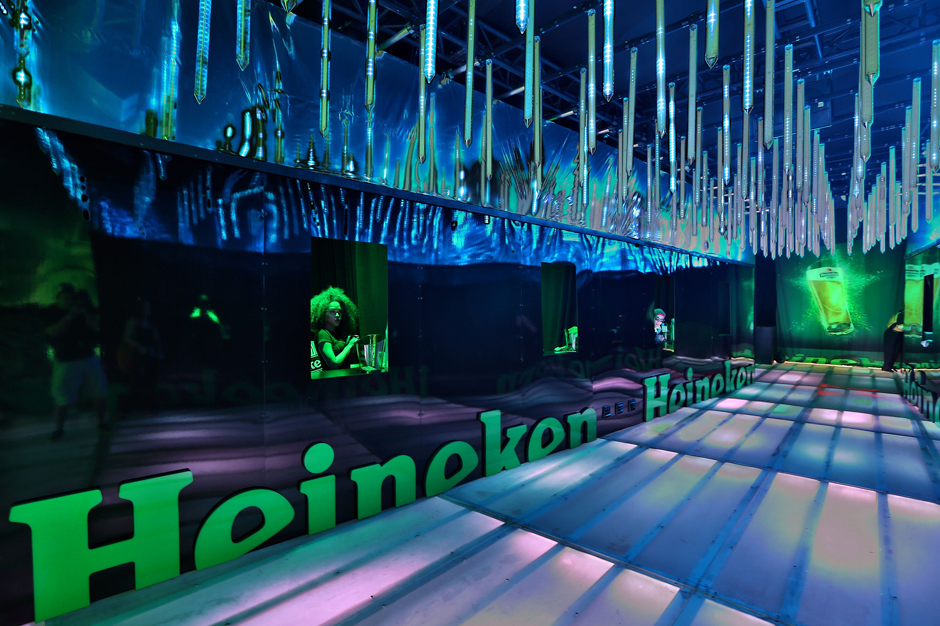 Heineken Debuts State-Of-The-Art Installation At Ultra Music Festival To Deliver Heineken Beers In World-Class Style